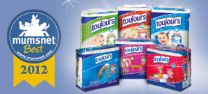 Lidl's disposable Toujours nappies top the Mumsnet chart for the second year in a row!