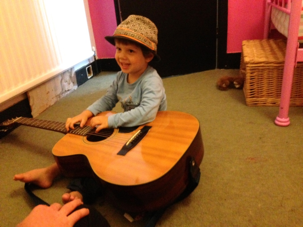 Toddlers are like Rock Stars