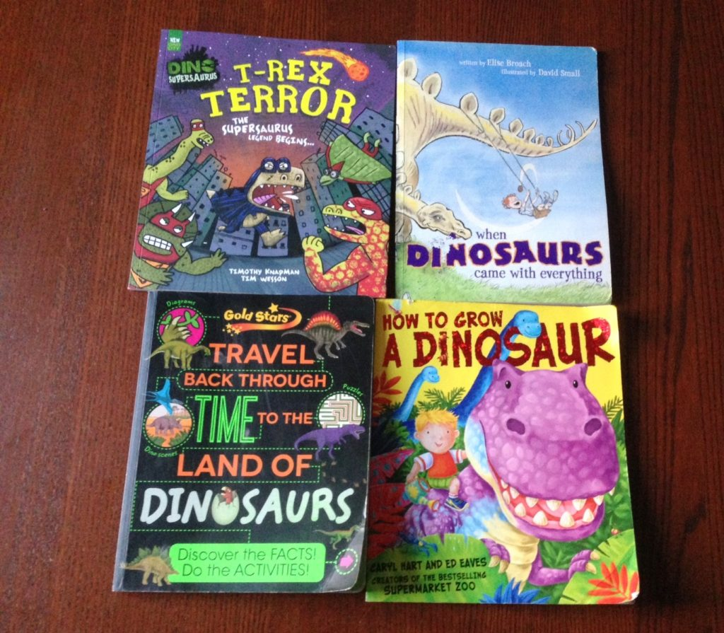 Our Favourite Dinosaur Books