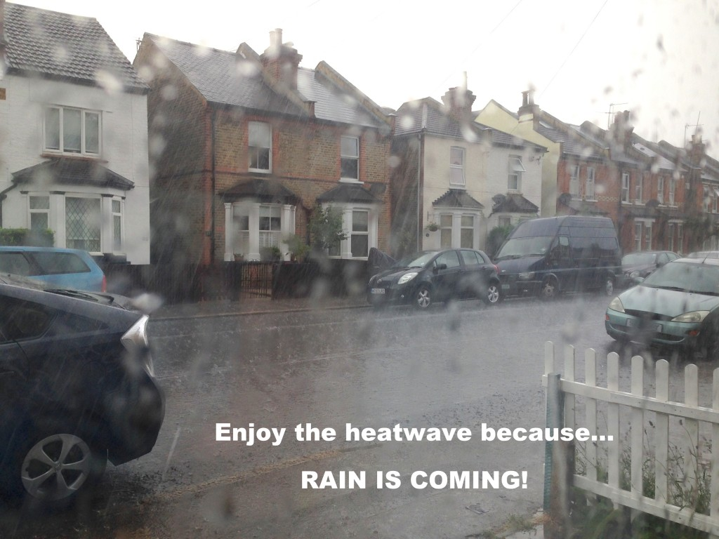 Oh the British, in the Summer