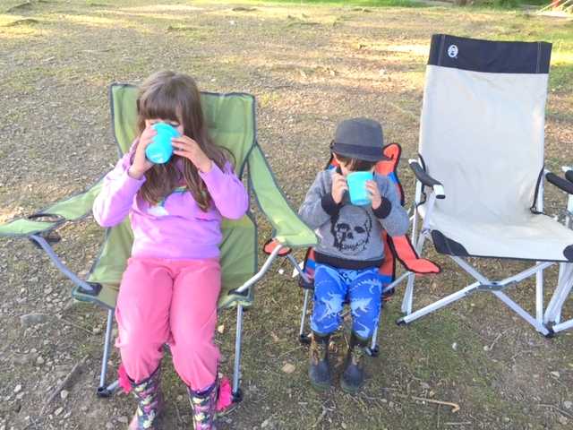 Camping in Low Wray, The Lake District