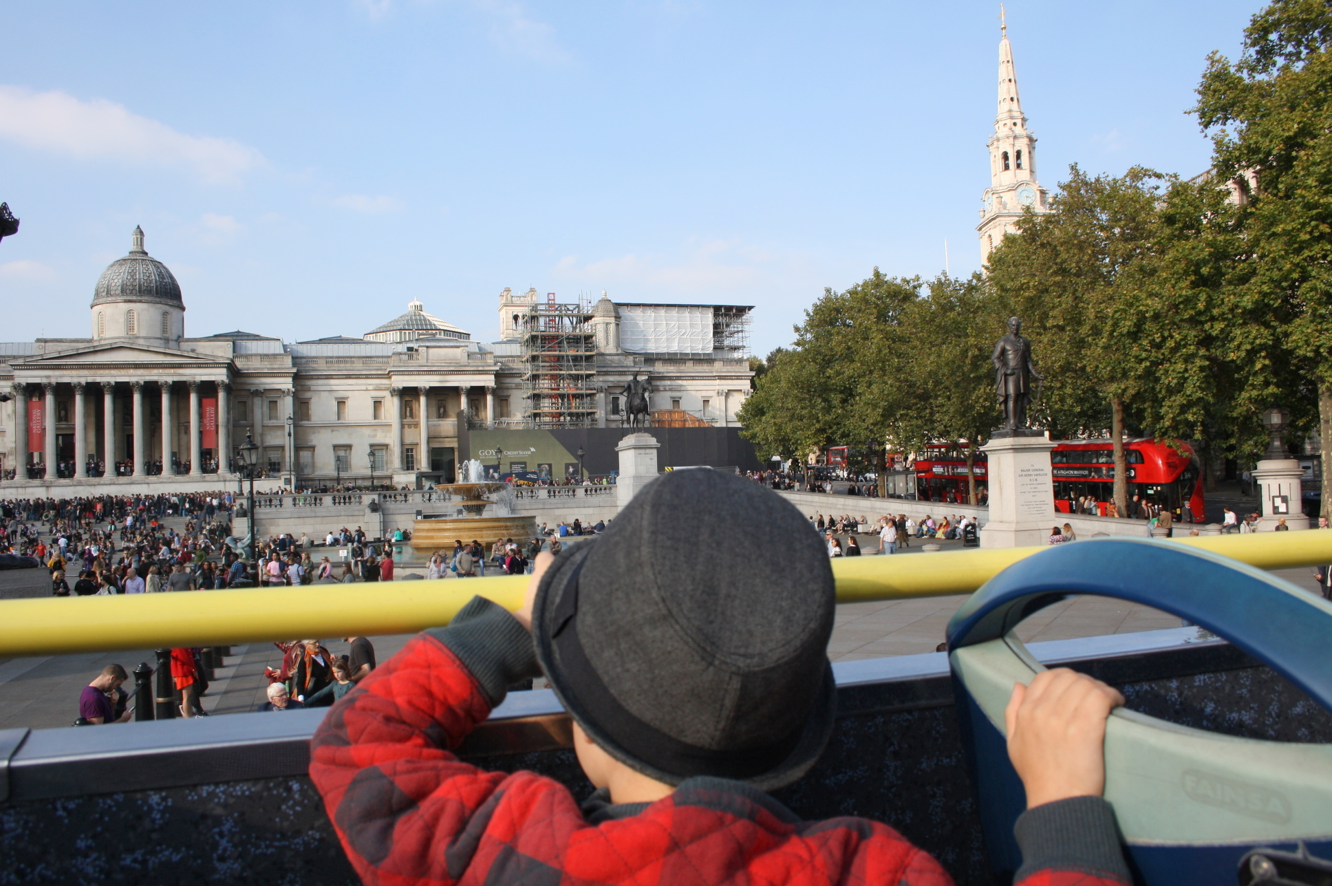 London Favourites - open top bus tour