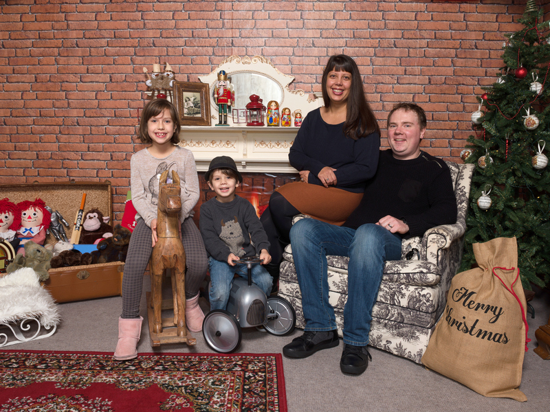 Photos in Santa's Grotto (& Eddie Catz Giveaway)