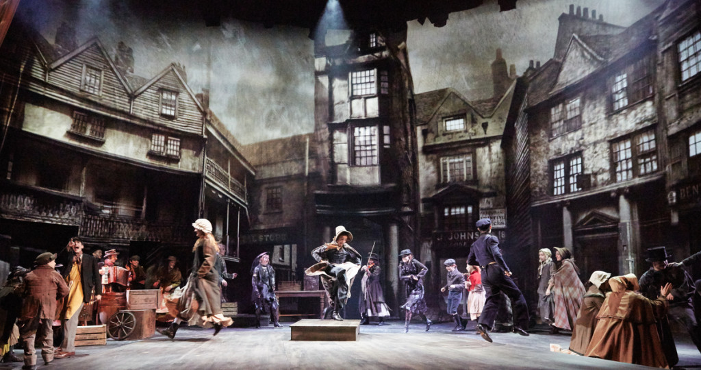 A Christmas Carol at The Rose Theatre. Photo by Mark Douet. I80A6125