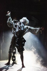 Anthony Hunt Jacob Marley A Christmas Carol at The Rose Theatre. Photo by Mark Douet. C31B1105