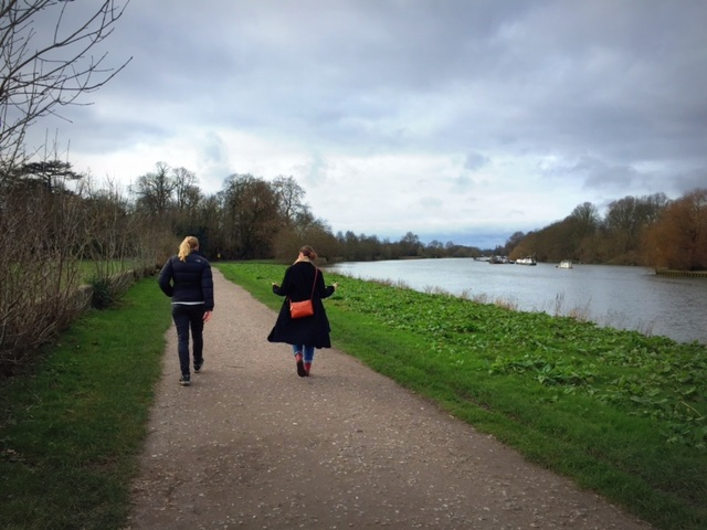 A Walk By The River