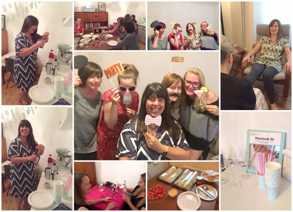 Pampering, Prosecco & Printing with HP