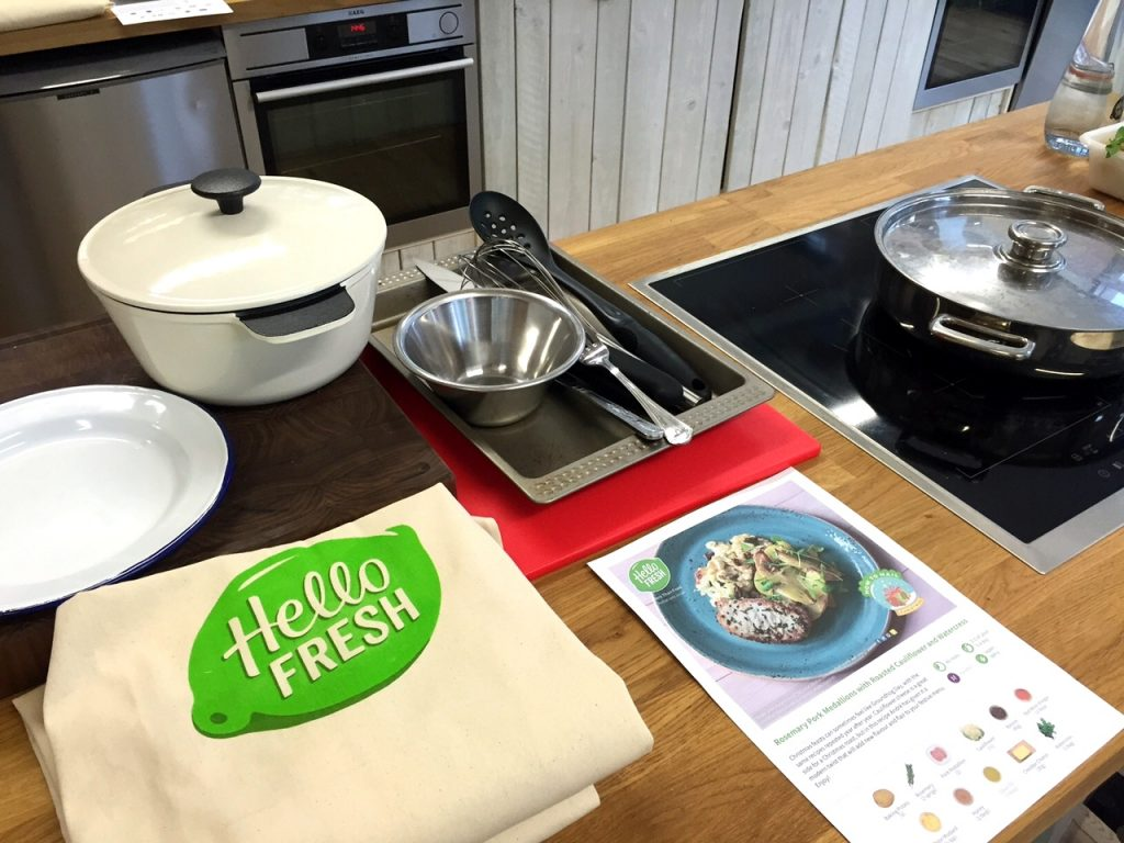 Californian Mum Cooks With Hello Fresh
