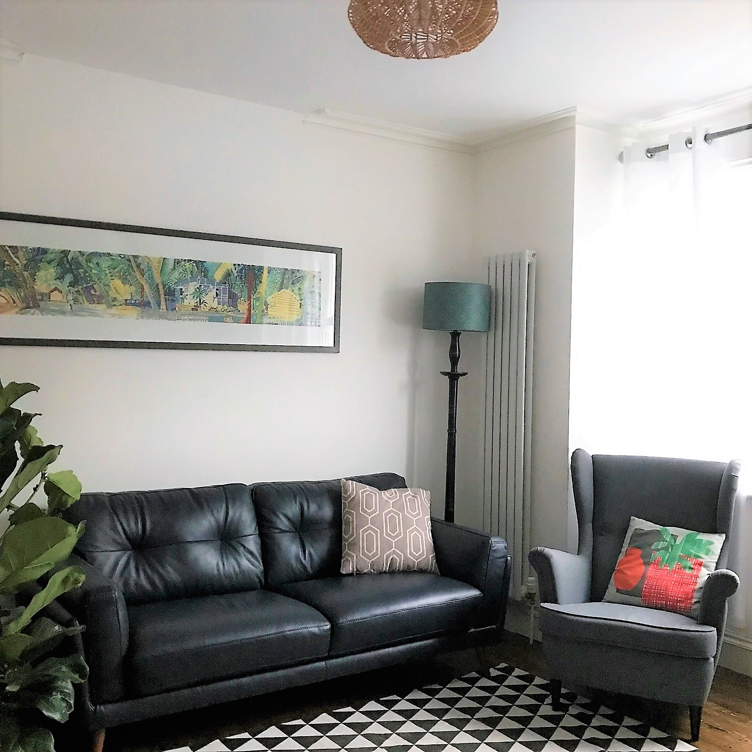 Updating The Living Room With A New Sofa